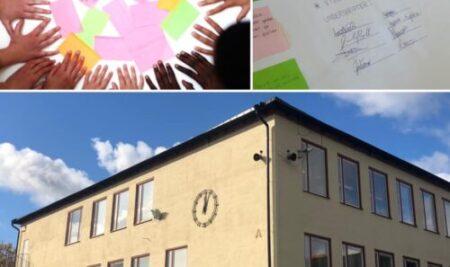 Demokratiacceleratorns idéverkstäder på Vällingbyskolan