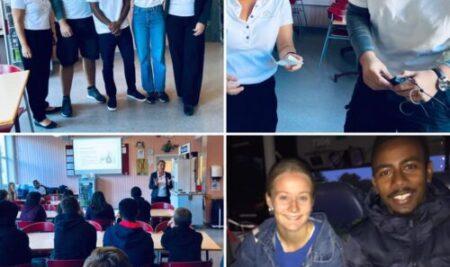 Demokratiacceleratorns kick-off på Vällingbyskolan