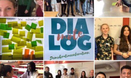 Avslutning av Demokratiacceleratorn för Vällingbyskolan